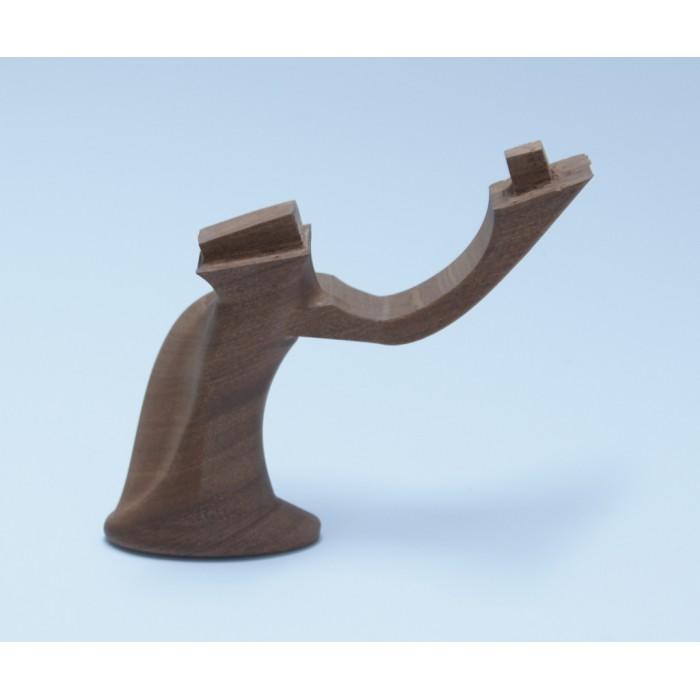 Impugnatura anatomica in legno